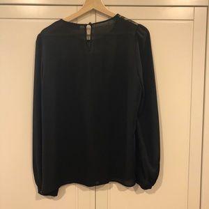 LOFT Tops - Lace detail blouse